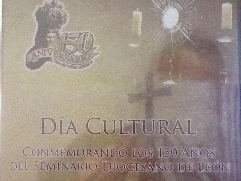 Conferencia del Pbro. Lic. Diego Alejandro Porras, 150 años de Fundación del Seminario de León